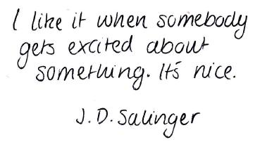 J.D. Salinger Quote