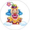 Tortendekoration-Clown-Tortenaufleger-Tortendeko-Party